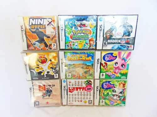 Set De 6 Videojuegos De Nintendo Ds Originales