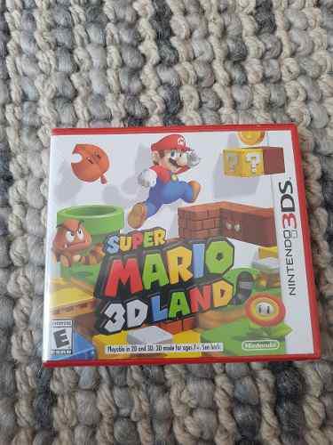 Super Mario 3d Land - Nuevo Y Sellado
