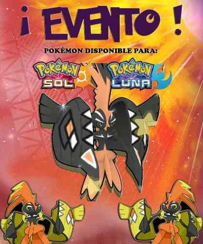 Tapu Koko Shiny - Evento - Pokémon Sol Luna Sun Moon 3ds!