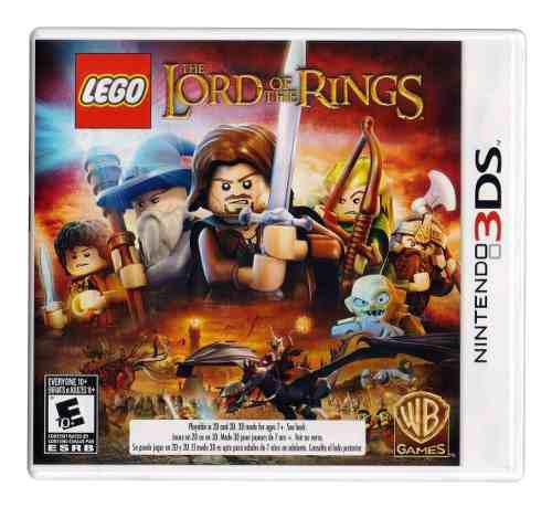 The Lord Of The Rings Lego Señor Anillos Nintendo 3ds
