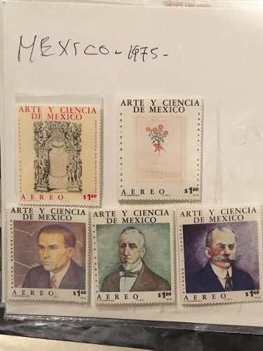 Timbres Postales Set Mexico Año