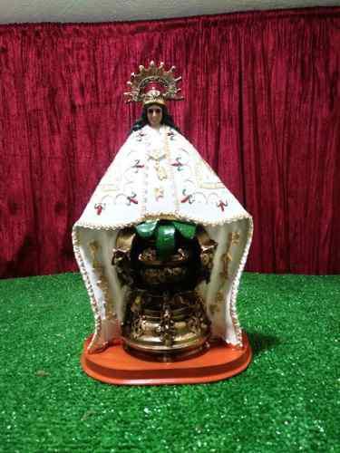 Virgen María, Virgen De Juquila, Figura De Resina,