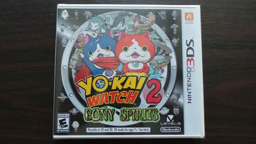 Yo Kai Watch 2 Bony Spirits 3ds Nuevo Sellado