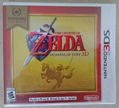 Zelda Ocarina Of Time Para Nintendo 3ds Nuevo Envío Gratis