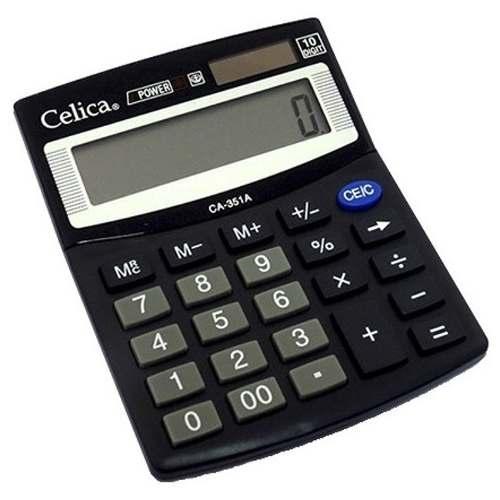 Calculadora Basica De Semi Escritorio Numeros Grandes Solar