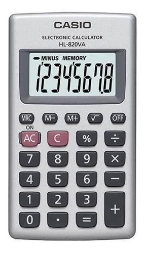 Calculadora Casio Básica 8 Digitos Hl-820a