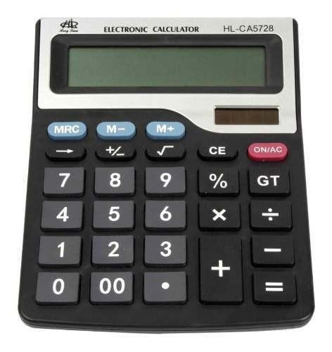 Calculadora De Escritorio 12 Dígitos Escolar