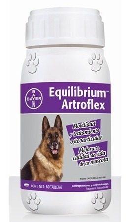 Equilibrium Artroflex 60 Tabletas Vitaminas Para Perros