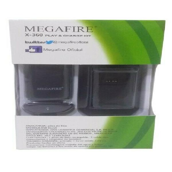 Kit Carga Y Juega Para Control Xbox 360 Cable Batería