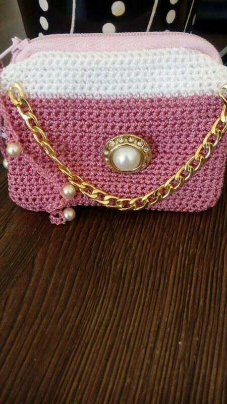 Monedero crochet artesanal