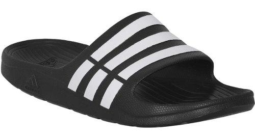 Sandalias adidas Duramo Slide Color Negro Envío Gratis Full