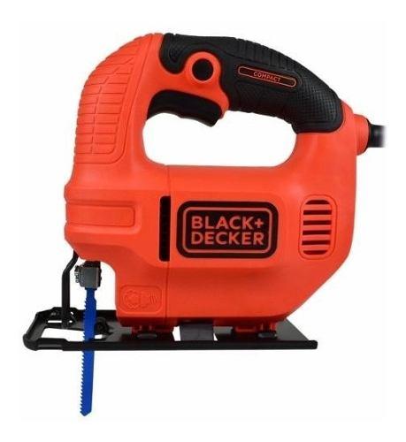 Sierra Caladora Para Madera Con Hoja 420w Black & Decker