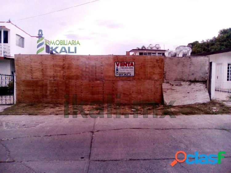 Venta terreno 600 m² Col. Jardines Tuxpan Veracruz,