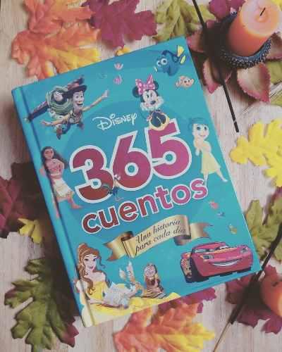 365 Cuentos Para Cada Dia Del Año Disney Pasta Dura