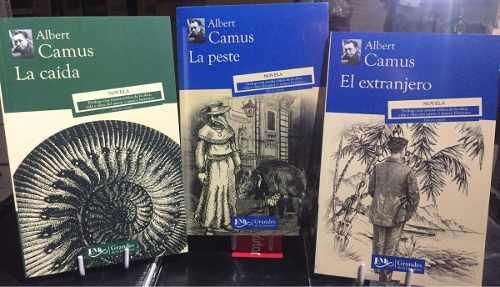 Albert Camus El Extranjero + La Peste + La Caída Pack 3