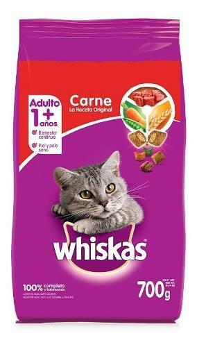 Alimento Para Gato Whiskas Receta Original 700 Gr