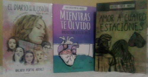 Amor A Cuatro Estaciones, Mientras Te Olvido Y El Diario