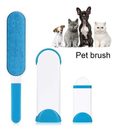 Cepillo Quita Pelusa Quita Pelo Mascotas Perro Muebles Ropa!