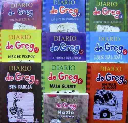 Diario De Greg - Paquete 3 Libros Envio Gratis
