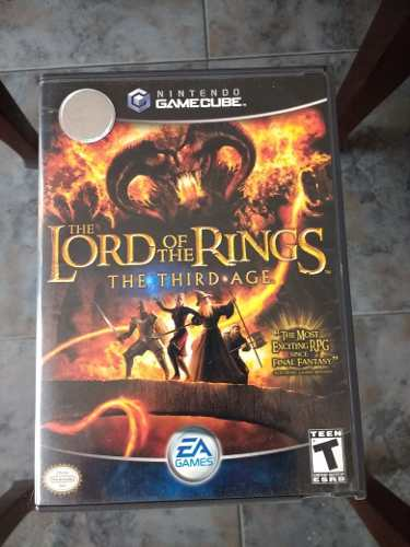 Game Cube The Lord Of The Rings The Third Age Juego Completo