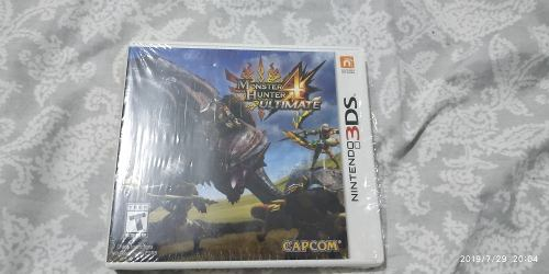 Juego 3ds Monster Hunter 4 X
