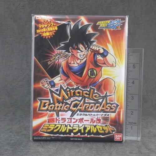 Juego De Cartas Dragon Ball Z Miracle Battle Carddass Japone