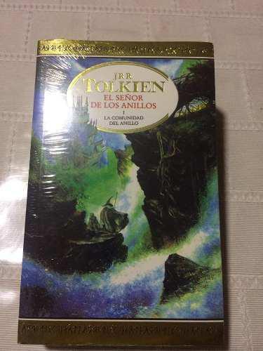 Libro El Señor De Los Anillos 1 La Comunidad Del Anillo