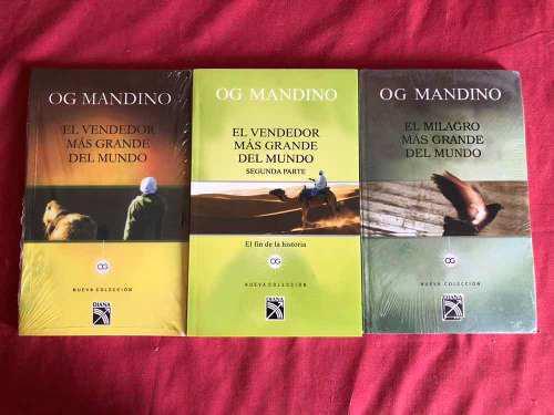 Libros El Vendedor Más Grande Del Mundo 1 - 2 Y El Milagro