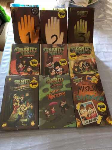 Libros Paquete De 9 Gravity Falls