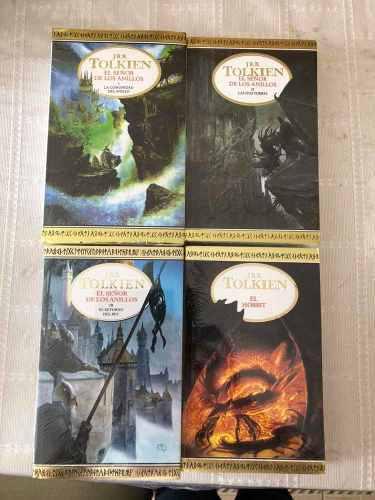 Libros Señor De Los Anillos 1 - 2 -3 Y Hobbit