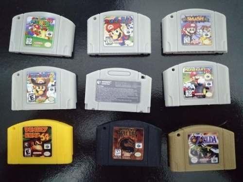 Llavero Tipo Cartucho Nintendo 64
