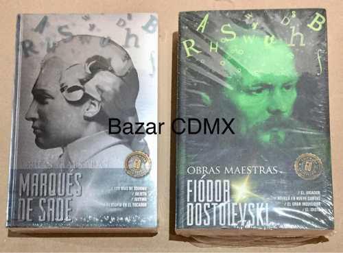 Marques De Sade + Fiodor Dostoievski Obras Maestras Pack