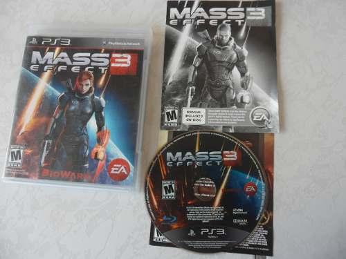 Mass Effect 3 Completo Para Tu Ps3 Juegazo!!!