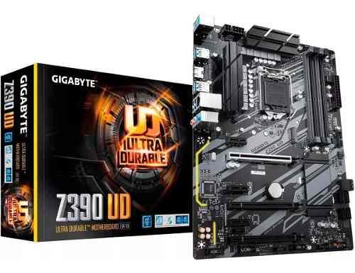 Motherboard  Intel Z390 Ud Tarjeta Madre Gigabyte Ddr4