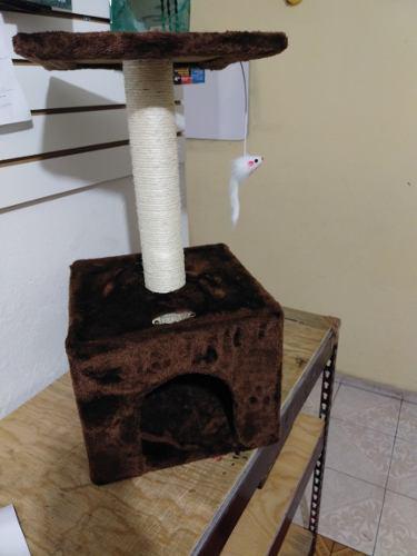 Mueble Rascadero Para Gato Con Juguete