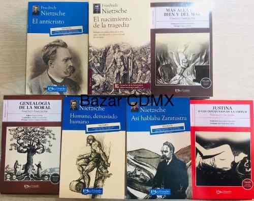 Pack 6 Libros Nietzsche Zaratustra Genealogía Anticristo