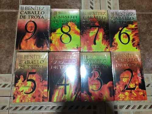Paquete De 8 Libros De Caballo De Troya 2 Al 9 + Envío