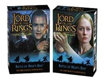 The Lord Of The Rings Juego De Cartas Tcg Helm Deep Decks