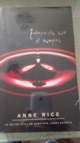 libro Entrevista Con El Vampiro / Anne Rice