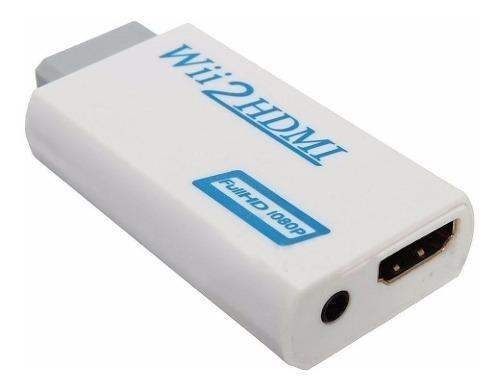 Adaptador Convertidor Hdmi De Wii 720p p Full Hd