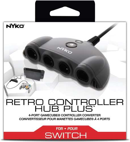 Adaptador De Controles Gamecube A Switch Nyko, Wii-u, Pc