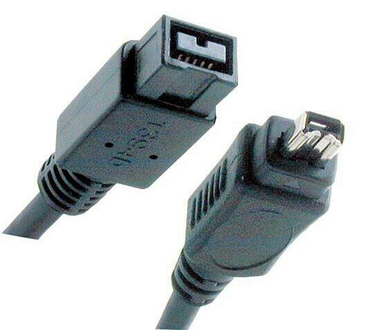 Cable Adaptador Firewire De 9 A 4 Pines 800/400 1.8m Mac