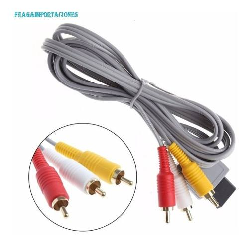 Cable De Audio Y Video Para Nintendo Wii Rca