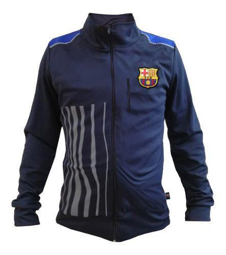 Chamarra Deportiva Oficial De Barcelona Para Hombre