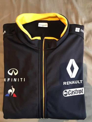 Chamarra Tipo Soft Shell Renault F1