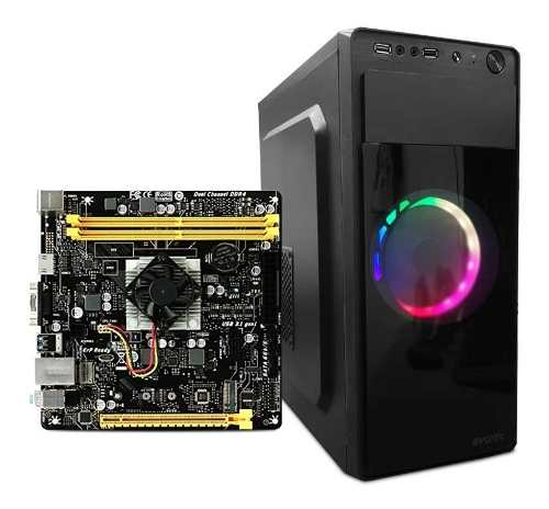 Computadora Pc Gamer Cpu Amd Fx Quadcore 8gb Ddrgb
