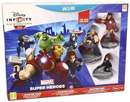 Disney Infinity Starter Pack 2.0 Para Nintendo Wii U Nuevo