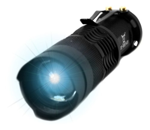 Lampara Tactica  Lumens Cree Led T6 Recargable /e