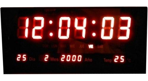 Reloj Digital Para Pared El Más Grande Y Barato Oferta