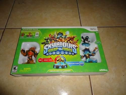 Skylanders Swap Force Starter Pack Nintendo Wii +++
